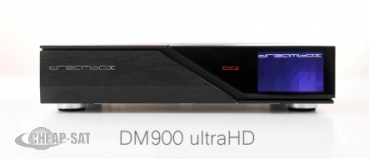Dreambox DM900 UHD 4K 2x DVB-S2X / 1x DVB-C/T2 Triple Tuner E2 Linux PVR Receiver