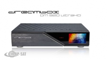 DREAMBOX DM920 UHD 4K 1X DVB-S2 FBC TUNER E2 LINUX PVR RECEIVERE