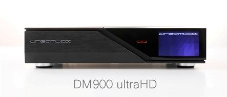 Dreambox DM900 UHD 4K 2x DVB-S2X / 1x DVB-C/T2 Triple Tuner E2 Linux PVR  Receiver